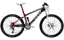 Felt MTB Edict Elite carbon matt/rot/wei